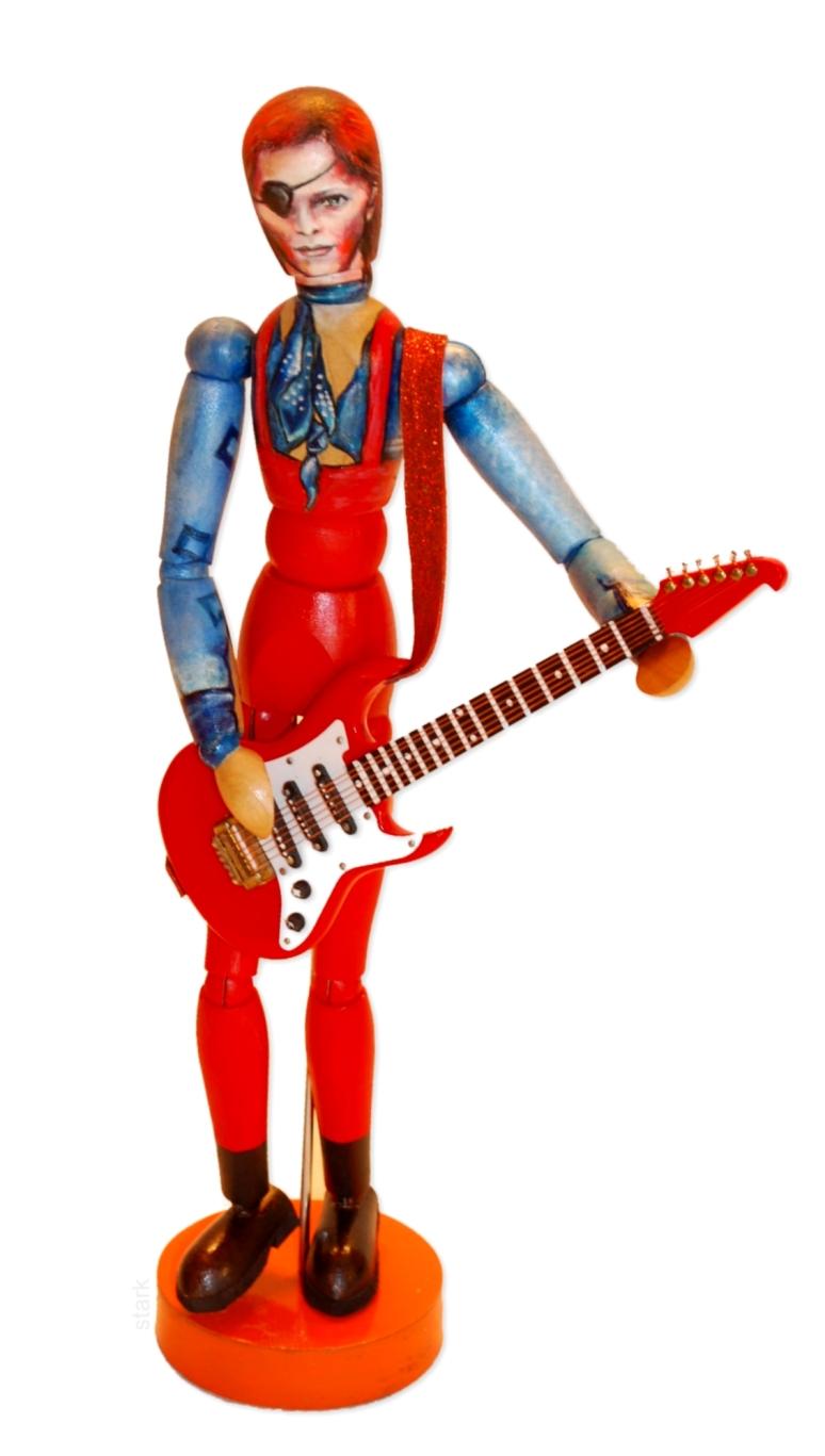 Halloween Jack Bowie Pop Art Mannequin