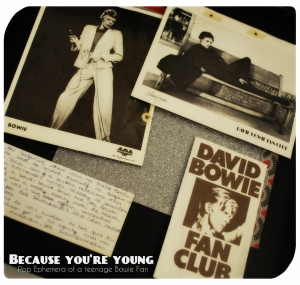 because you're young pop ephemera thin white duke
