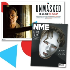 The Mask of Cain and the Ghost in the Curtain. NME feature 2013, images:  Jimmy King