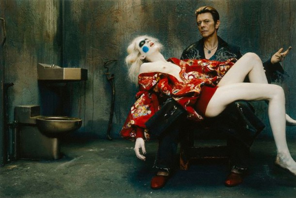 David Bowie's pieta by Steven Klein via tanjastark.com